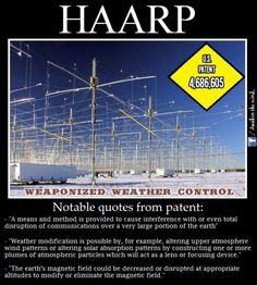 HAARP-in Alaska - scary stuff!//Yeah Google HAARP and see what else it can project into the sky...and also see its effects with Hurricane Katrina...our governments delayed response to help the victims in Louisiana. Think.