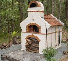 I want one of these brick ovens. Kind of cool build project.