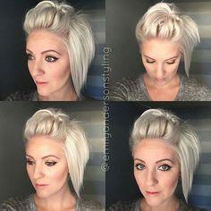 @Regrann from @emilyandersonstyling - Topsy Turvy & Hair knot Pompadour. Today's #shorthairtutorialmonday still shots. #hothairvids #modernsalon #nothingbutpixies #behindthechair #hairstyles #bighairdontcare #emilyandersonstyling #Regrann @Regrann from @emilyandersonstyling - Topsy Turvy & Hair knot Pompadour. Today's #shorthairtutorialmonday still shots. #hothairvids #modernsalon #nothingbutpixies #behindthechair #hairstyles #bighairdontcare #emilyandersonstyling