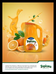 7 Tropicana ideas | tropicana, juice ad, print ads