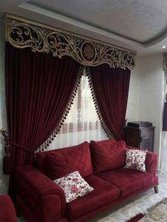 Bedroom Design Grey White Curtains 68 Ideas For 2019 Classic Curtains, Elegant Curtains, Modern Curtains, Bedroom Curtains With Blinds, Luxury Curtains, Curtain Pelmet, Curtain Fabric, Drapery, Windows