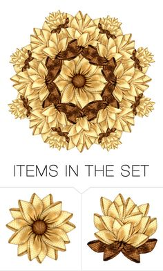 """Autumn Mandala"" by sabine-713 ❤ liked on Polyvore featuring art"