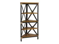 Barrymore Furniture - Gaspar Corner Bookcase
