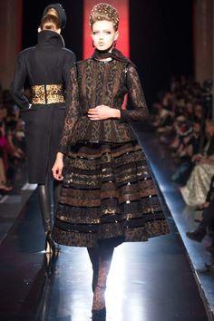 Gaultier des robes de soirée merveilleuses pour l'automne 2013-2013