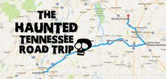 This Haunted Road Trip Will Lead You To The Scariest Places In Tennessee