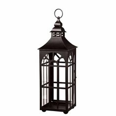 Easily create an eye-catching display with this charming metal lantern. The attention to detailing makes this lantern more than just a functional piece. Metal Lanterns, Lanterns Decor, Decorating With Lanterns, Victorian Design, Arched Windows, Wedding Rentals, Accent Pieces, Interior And Exterior, Rustic