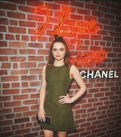 """Joey King on Instagram: """"This photo is aesthetically pleasing to me. I had a fabulous evening at the #cocolovesla event! Thank you so much @chanelofficial for having me ☺️"""""""