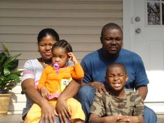 The beautiful Seright Family. Proud 1st time homeowners.  #affordablehousing