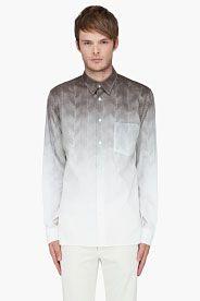 Ivory Para Herringbone Shirt