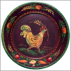 Love Jo Sonja's painting and Peter Hunts style.  Rooster Hunt - JP3110