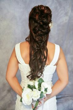 Work a braid into long hair for a change to classic upstyles. Photo by phojotagraphy hair by M Gentry Hair Designs