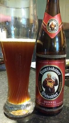 Franziskaner Weissbier Dunkel, Watch the video beer review here…