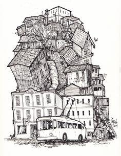 Valparaíso by DonSATA (via Creattica)