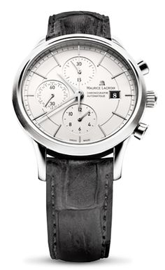 Short measurements of time are soberly displayed in a space that has been reduced to the essentials. The three classical, or even traditional, chronograph counters embody the very spirit of the collection. A spirit that gives pride of place to a sense of elegance imbued with succinct precision. The chronograph functions are...
