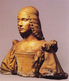 """Isabella d'Este 1474-1539-Marchesa of Mantua & a leading woman of the Italian Renaissance as a major cultural & political figure, a patron of the arts & a leader of fashion. """"Liberal and magnanimous Isabella"""" """"Supreme among women"""" She was physically attractive & possessed lively eyes & was """"of lively grace"""". She married Francesco Gonzaga & their attraction deepened into love. At the time of her wedding, Isabella was pretty, slim, graceful & well-dressed. Her long, fine hair was dyed pale…"""