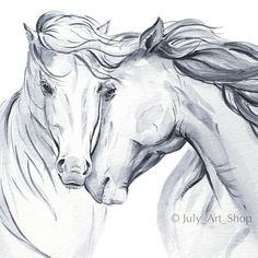 Tactics to guide you Try to improve Your own being familiar with of animal drawing Horse Head Drawing, Horse Pencil Drawing, Pencil Drawings Of Animals, Creature Drawings, Horse Drawings, Animal Sketches, Art Sketches, Drawing Animals, Watercolor Horse