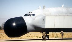 STRANGE BUBBLE NOSE 707 MILITARY RADAR EARLY WARNING PLANE - 2