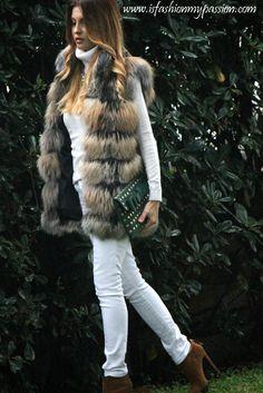 gilet+di+pelliccia+fur+vest+fashion+blogger+miriam+stella+pelliccia+vladimiro+gioia+clutch+con+borchie+CAPELLI+SHATUSH+OMBRE+HAIR+(3).JPG (660×988)