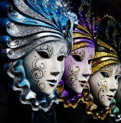 look at the detail in these beautiful mask
