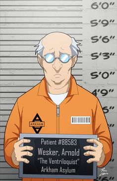 Arnold Wesker locked up by phil-cho on DeviantArt
