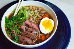 Beef Ramen Noodle Soup -- just tried this for dinner tonight. it was a hit with the #fambam