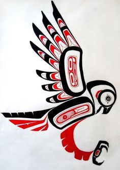 Native Art Replication by ArsonAnthemKJYou can find Haida art and more on our website.Native Art Replication by ArsonAnthemKJ Haida Kunst, Inuit Kunst, Arte Inuit, Haida Art, Inuit Art, Native American Animals, Native American Symbols, Native American Design, Native Design