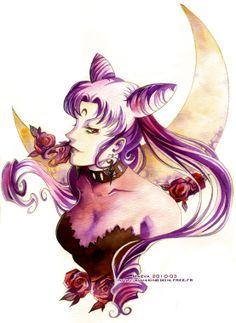 Black Lady - Sailor Moon by =Maevachan