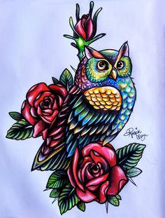 Tattoos Fonts Ideas Designs Pictures Images: Owl Tattoo Designs Ideas Photos Images Pictures