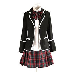 URSFUR Womens British Style Japan School Uniform Sets Cos... https://www.amazon.com/dp/B01HR8S1X0/ref=cm_sw_r_pi_dp_x_i86yzbWM15B68