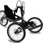Forzer off-road handcycle by Marius Hjelmervik