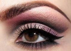 beautiful mixture of magenta, light purple & grey