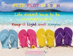 Flip Flop Wisdom
