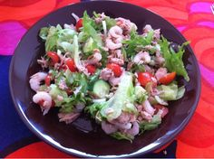 So good tuna salad. Best Tuna Salad, Cobb Salad, Life, Food, Essen, Meals, Yemek, Eten