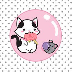 Hikari Loves Lollipops, Kuroi likes gum the best, do you have a favorite candy? – A Hikari adora pirulitos, o Kuroi gosta mais de chicletes, você tem um doce favorito?