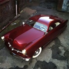 ('50 Ford Deep Red Custom)