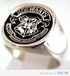 Hogwarts class ring. Hell yes.