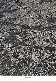 "Curioos.com   ""Munich"" by Luis Dilger (Germany) - https://pinterest.com/curioos"
