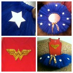 Adult Wonder Woman Tutu Costume by BeautifulThingsByLiz on Etsy, $45.00