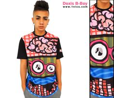 DOXIS te recomienda para el día de hoy la DOXIS T-SHIRT B- BOY ¡Qué espera para comprarla ya! en: www.1nics.com