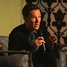 Sherlockology: #BenedictCumberbatch is going indepth talking about his portrayal of #Sherlock at this panel! #SherlockedEvent