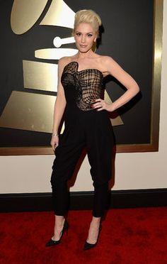 Gwen Stefani rocks Atelier Versace at the Grammys