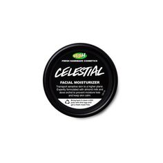 Celestial Moisturizer ($26) ❤ liked on Polyvore featuring beauty products, skincare, face care, face moisturizers, lush and sensitive skin face moisturizer