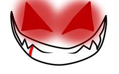 evil smile by shadowwolfydragon10