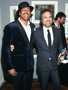 Star Tracks: Friday, October 23, 2015 | SUCH GENTLEMEN | Nick Cannon and Mark Ruffalo attend the GQ Gentleman's Fund cocktail reception and awards ceremony in N.Y.C. on Thursday.