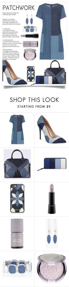 """""""Untitled #26"""" by saghar1 ❤ liked on Polyvore featuring J Brand, ALDO, Diesel, Nine West, MICHAEL Michael Kors, MAC Cosmetics, Nails Inc., Chico's and Sephora Collection"""