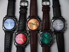 Glashütte Original Sixties Iconic Square Watches With '1960s Original Dial Colors' Hands-On