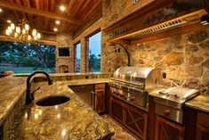 Outdoor Kitchen Design Ideas, Pictures, Remodel, and Decor - page 3