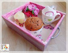 Bandeja de desayunos para el Día de la madre - Bricoydeco.com