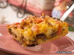 Barn Raising Breakfast Casserole - Our hearty Amish Barn-Raising Breakfast recipe is guaranteed to give you lots of energy to start the day. This homey, country-style breakfast bake might traditionally be made in a coal or wood burning stove, but it'll bake up just fine in our own ovens, easily.