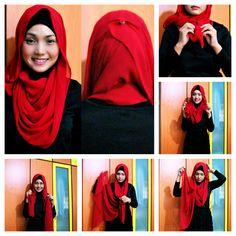 Hijab tutorial | Visit our pintrest.com/hijabtutorial